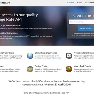 Exchangerate Api Alternatives And