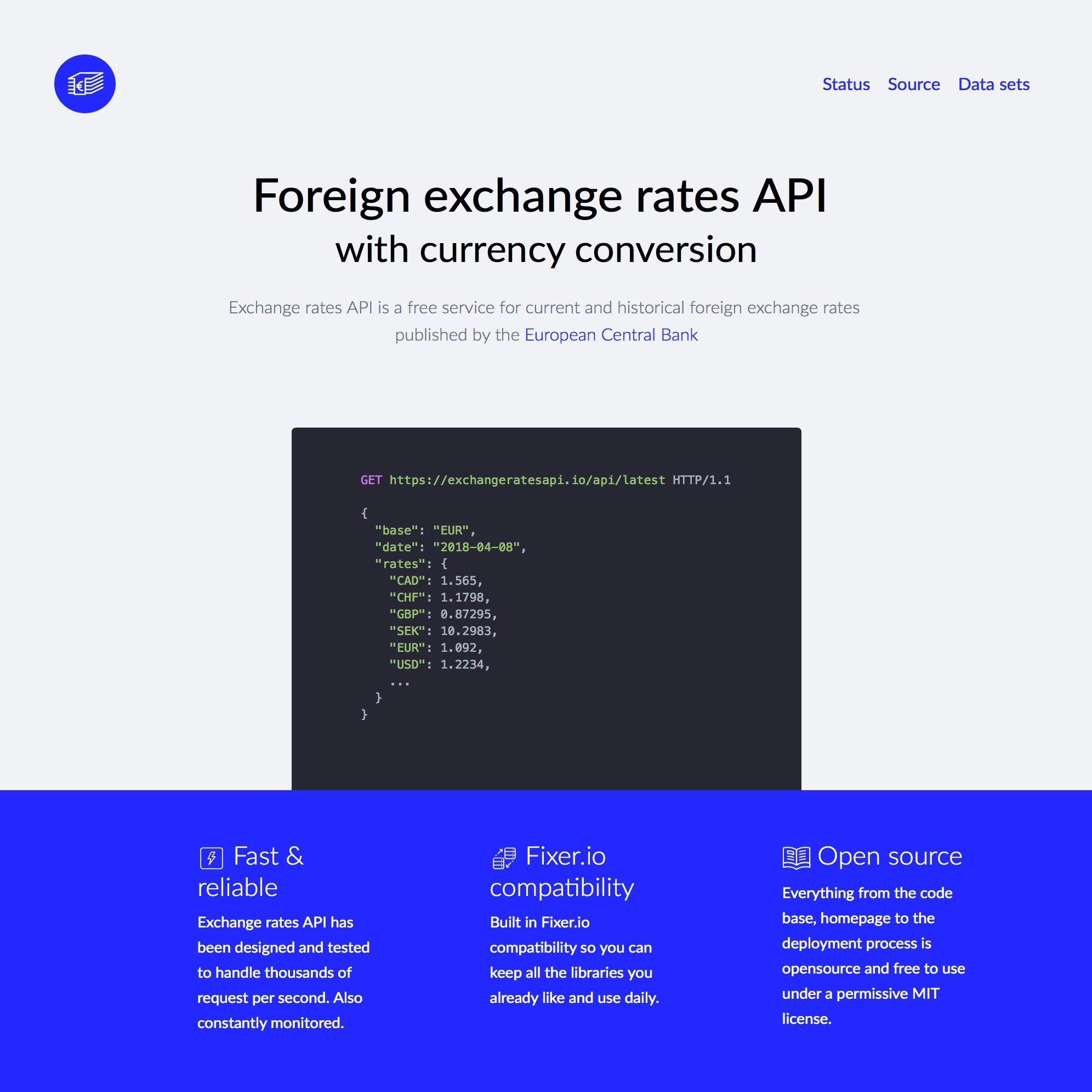 exchangeratesapi io Alternatives and Similar Websites and