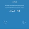 Exhale by SoundGrail is a free online app for meditation and relaxation!
