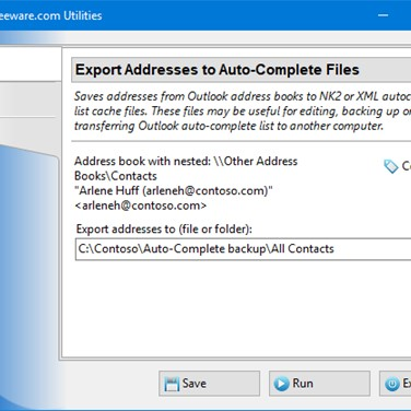 Export Addresses to Auto-Complete Files Alternatives and