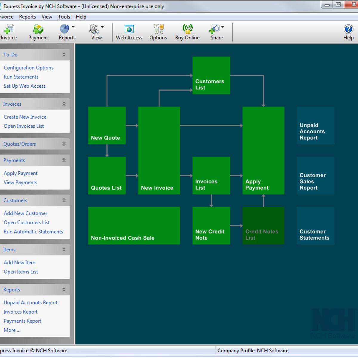 Express Invoice Alternatives And Similar Software AlternativeTonet - Open invoice software