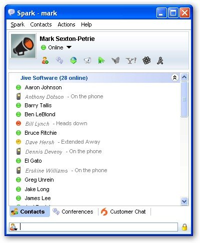 Spark Chat Room