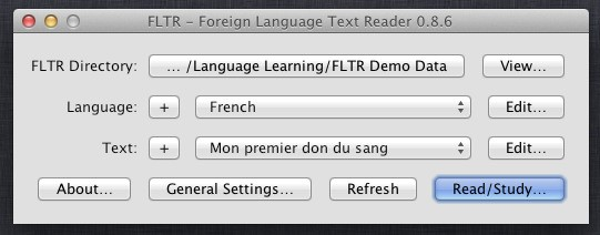 foreign language text reader