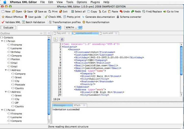 XPontus XML Editor Alternatives and Similar Software