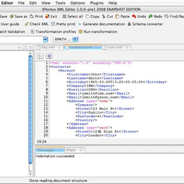 XPontus XML Editor Alternatives and Similar Software