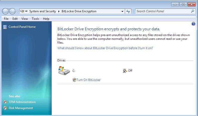 Bitlocker for windows 7 cnet download.