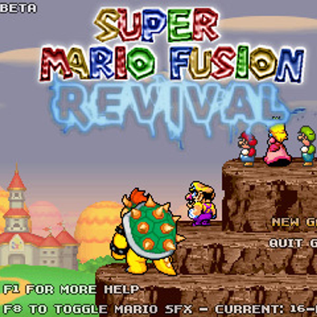 Super Mario Fusion Revival Alternatives and Similar Games