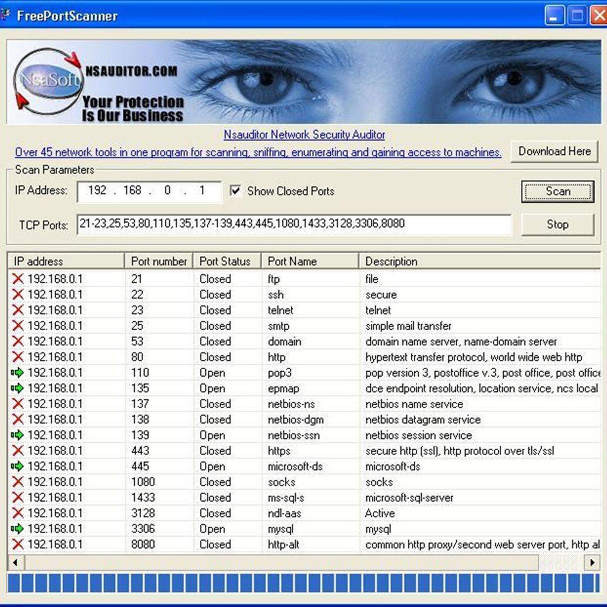Top Five Port Scanner Windows Online / Fullservicecircus