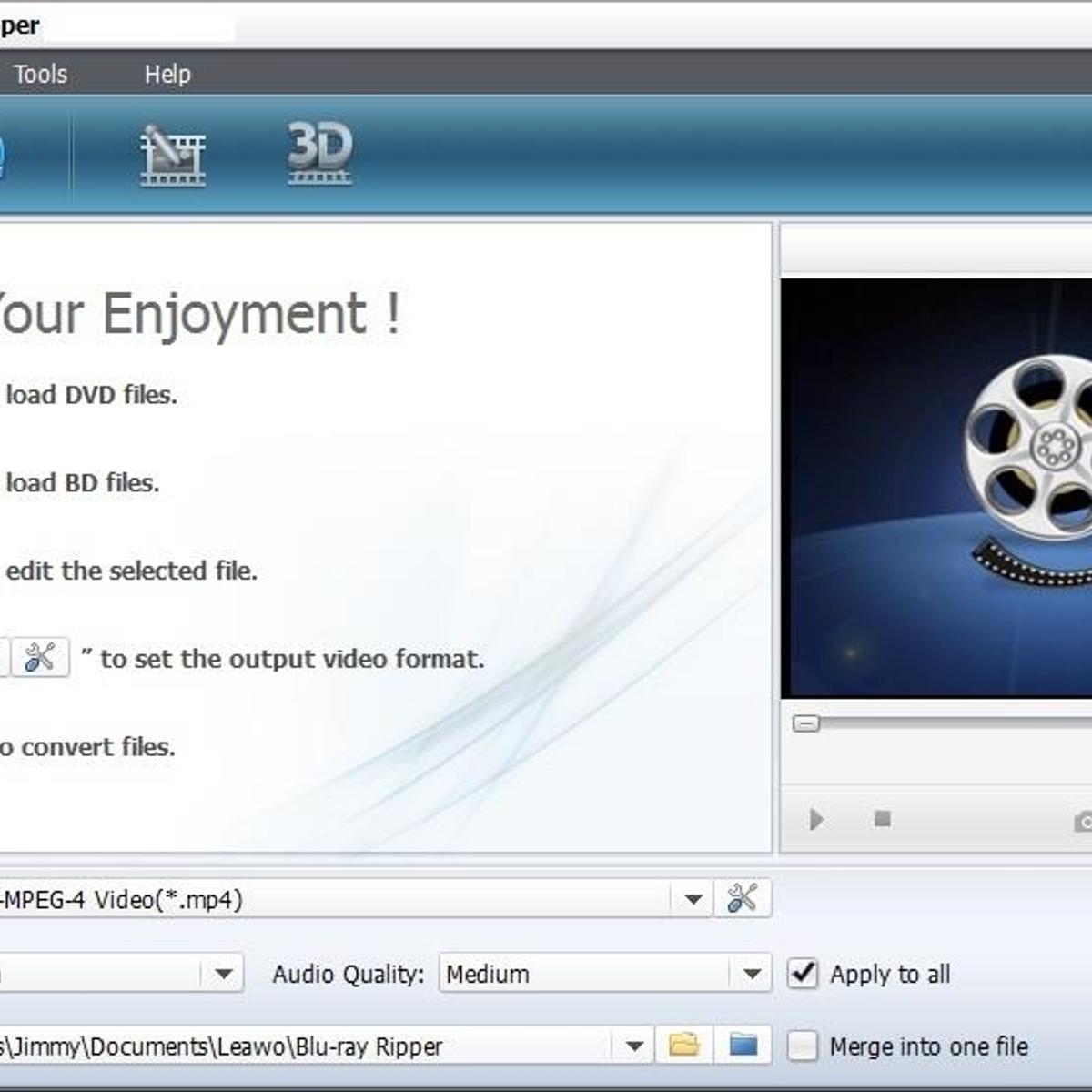 Leawo Blu-ray Ripper Alternatives and Similar Software