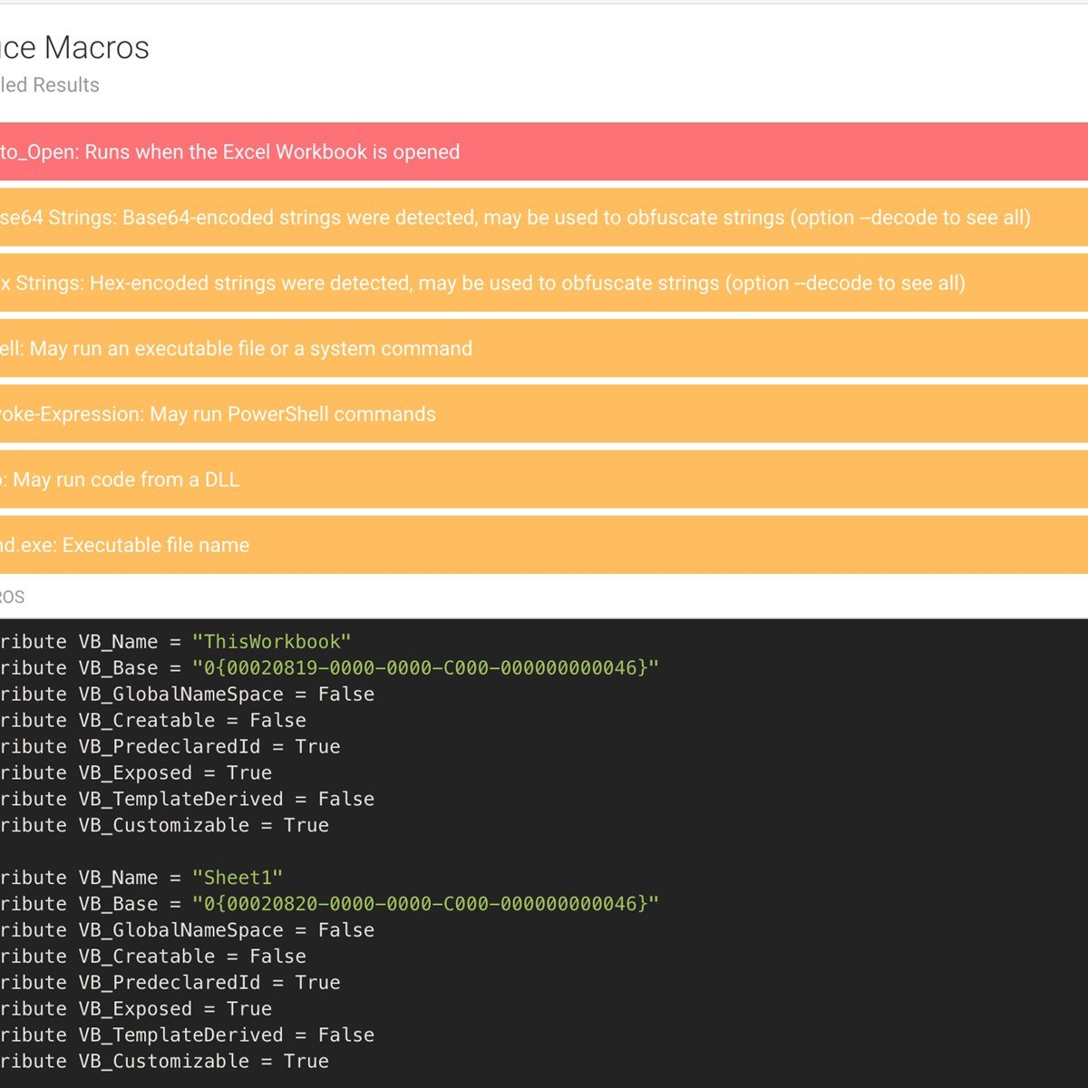 FAME Automates Malware Evaluation Alternatives and Similar