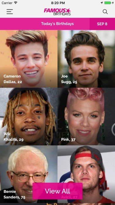 Famous Birthdays Alternatives and Similar Apps and Websites