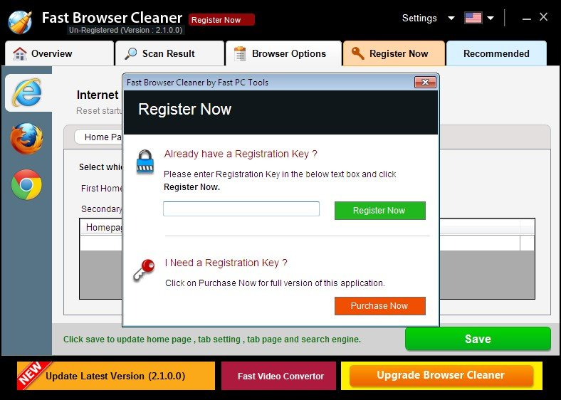 Fast Browser Cleaner Alternatives and Similar Software