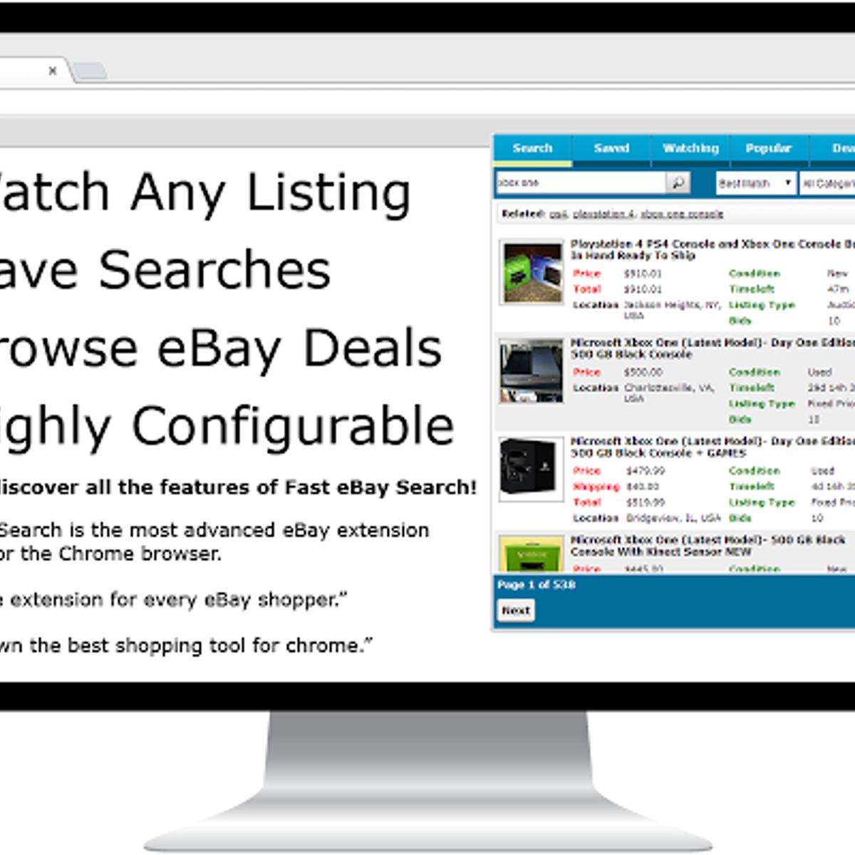 Fast Search For Ebay Alternatives And Similar Software Alternativeto Net