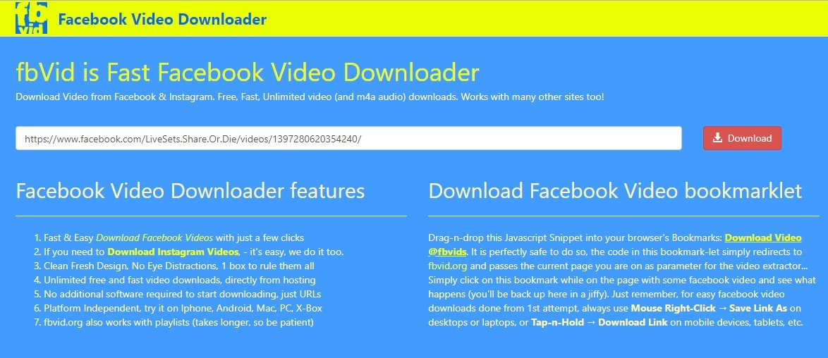 fb free mode download