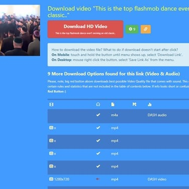 fbvid - Facebook Video Downloader Online Alternatives and