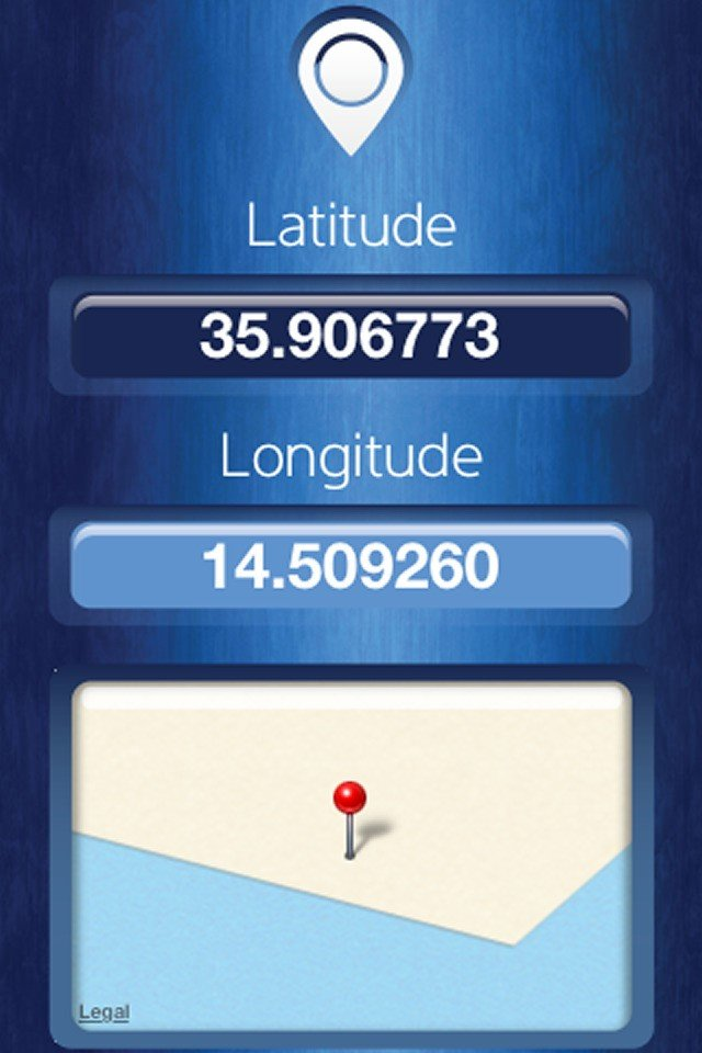how to find my latitude and longitude