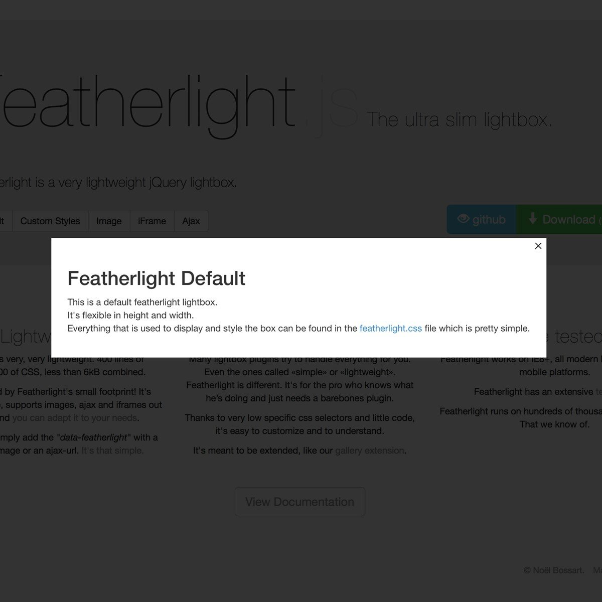 Featherlight.js Alternatives and Similar Software ...