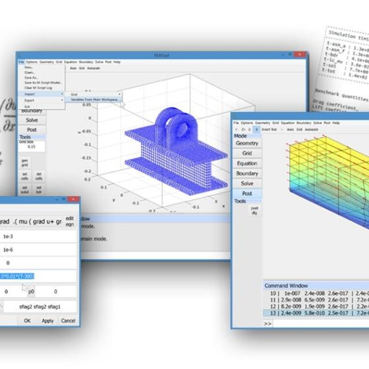 FEATool Multiphysics Alternatives and Similar Software
