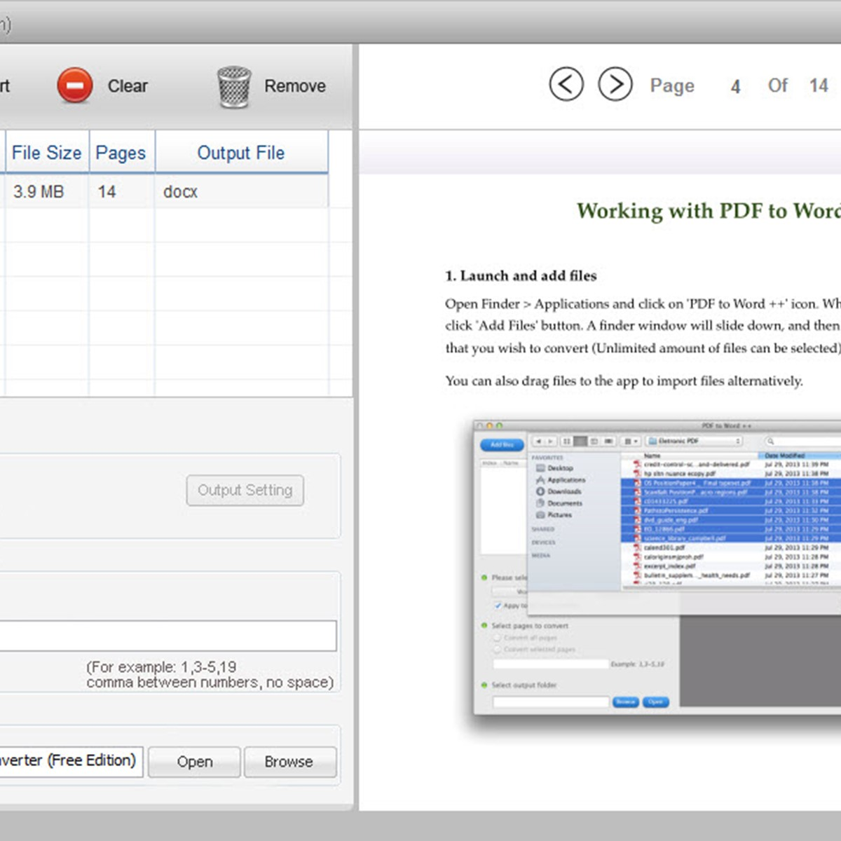 Lighten PDF to Word Converter Alternatives and Similar
