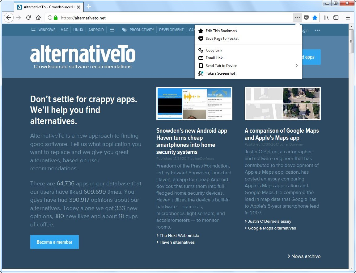 Chromium Alternatives for Linux - AlternativeTo net