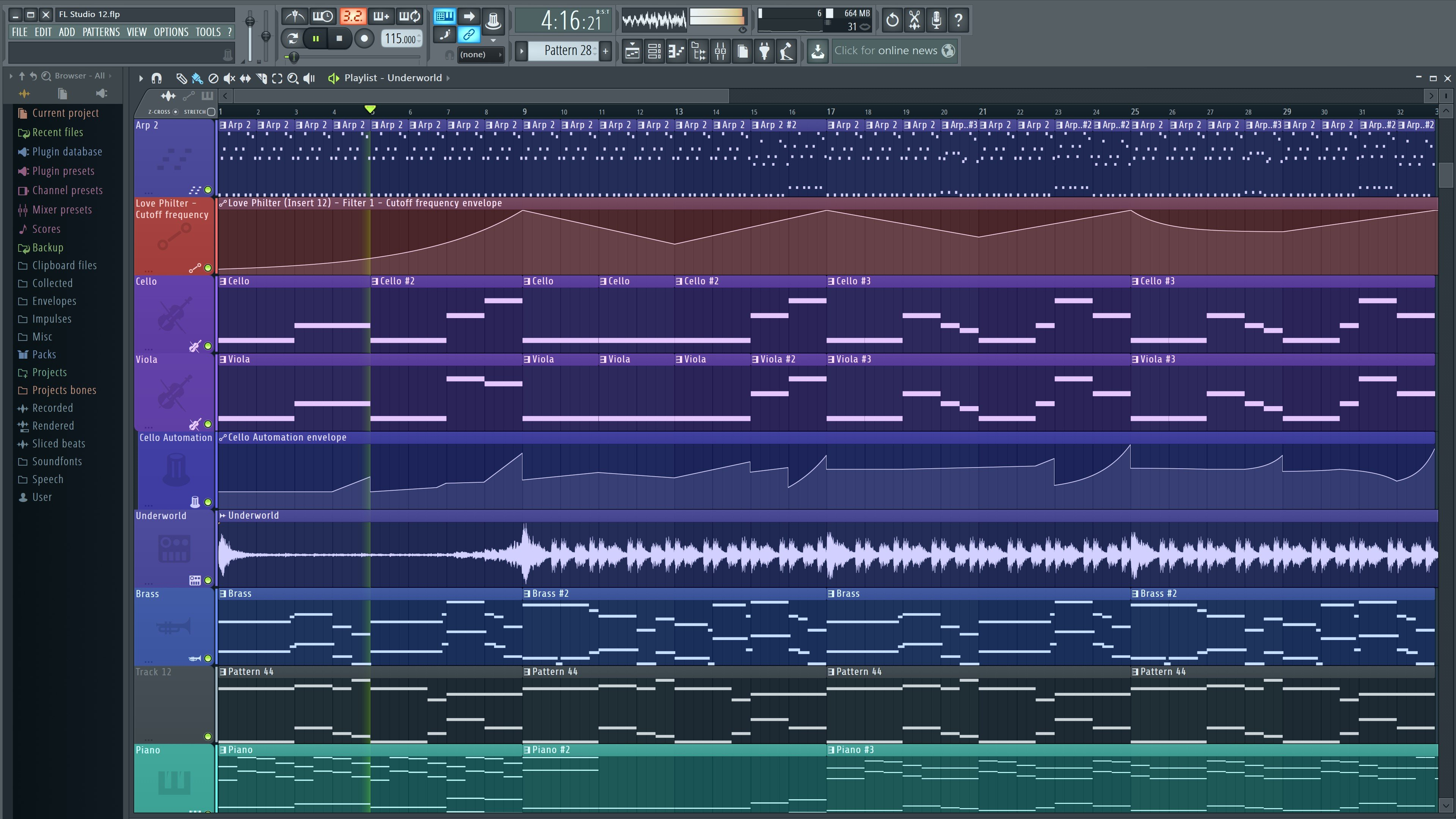 magix music maker 16 how to open midi editor