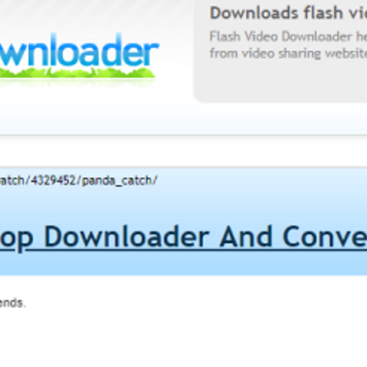 Flash Video Downloader Alternatives for Google Chrome