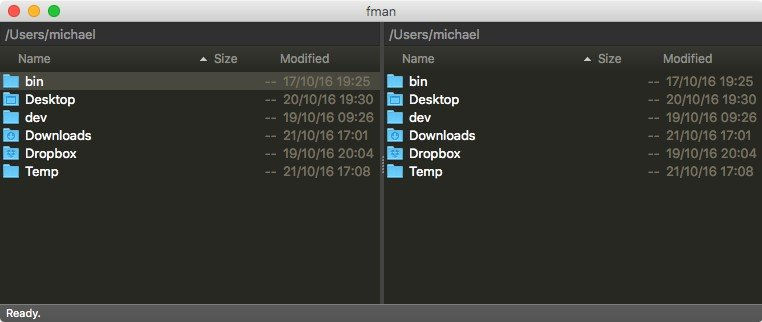 Www.fman.io Dualpane File Manager For Mac
