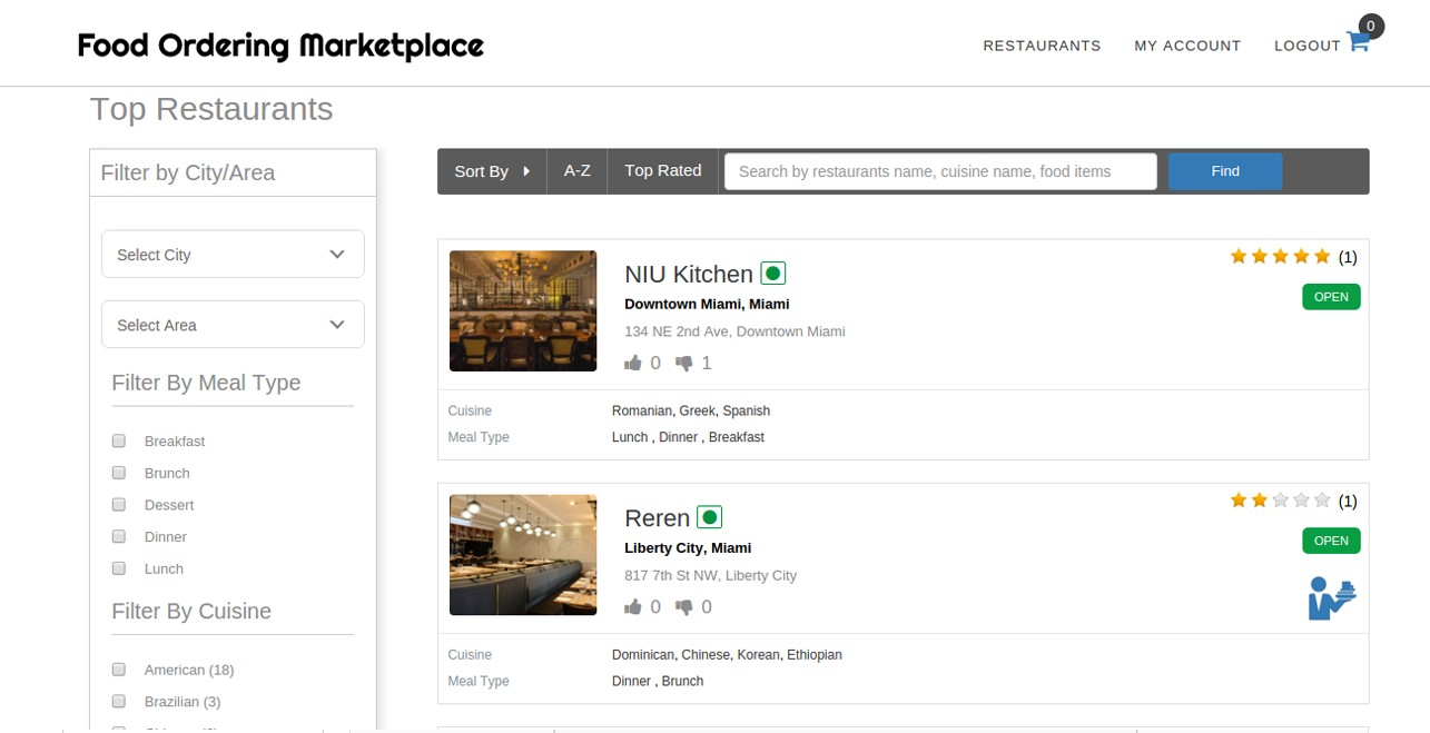 Food Ordering Script by Logicspice Alternatives and Similar Software