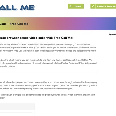 Free Call Me Alternatives and Similar Websites and Apps