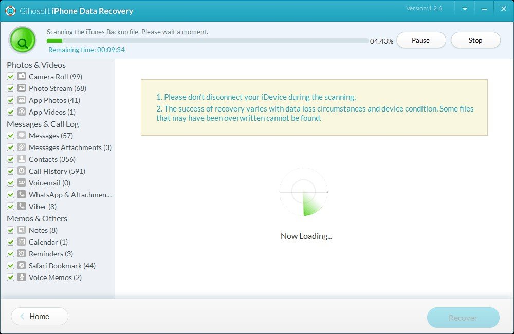 Gihosoft iPhone Data Recovery Alternatives and Similar Software