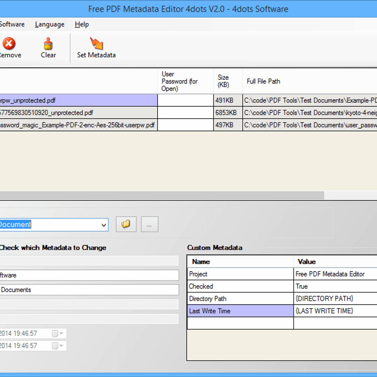 batch edit pdf files