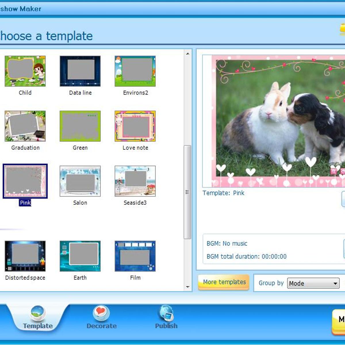 Free Slideshow Maker Alternatives and Similar Software