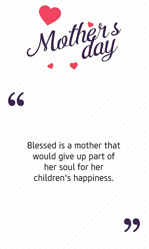 Free SMS on Mother's day - Messages for Mother Day