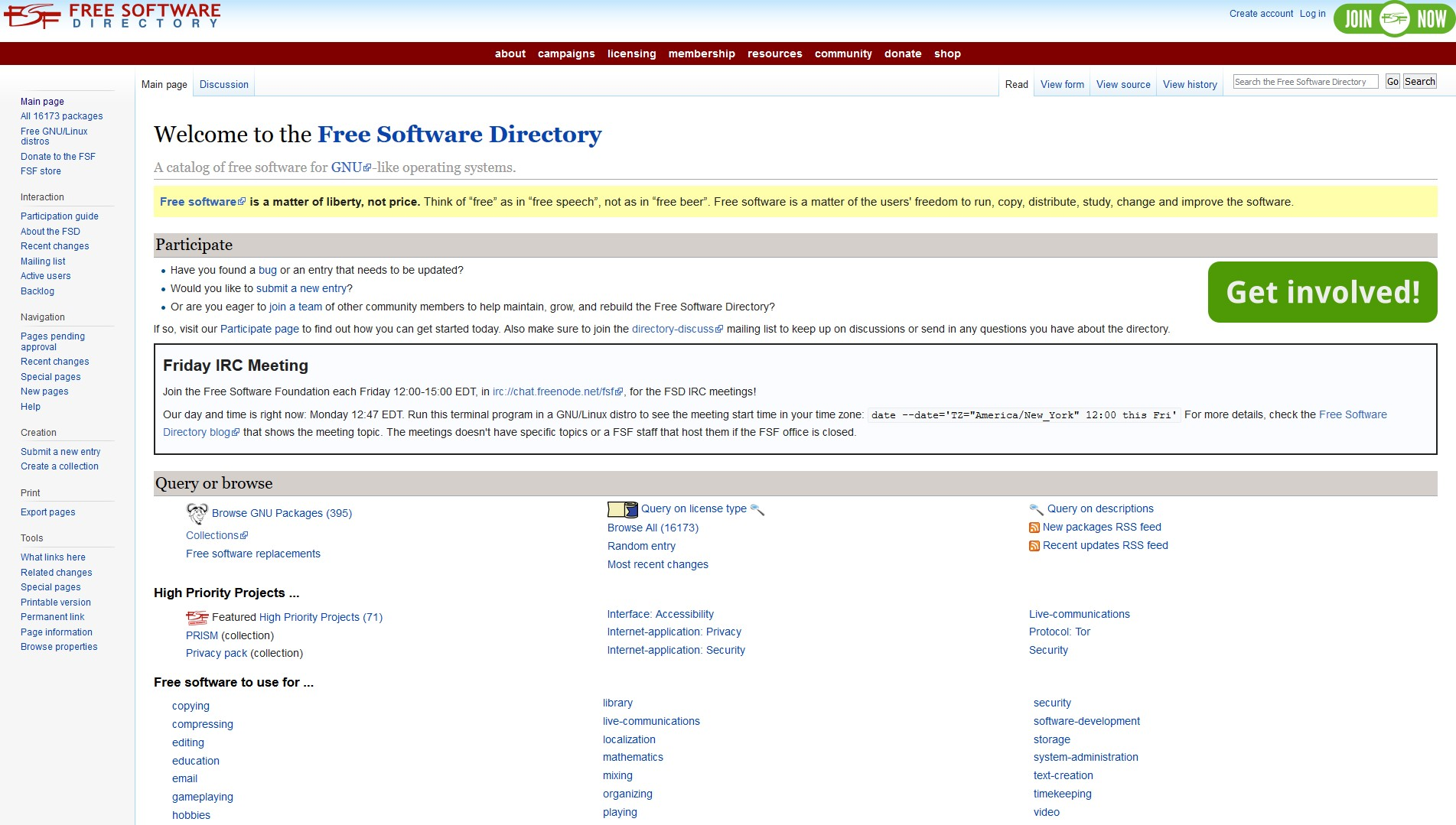 Free Software Directory Alternatives and Similar Websites