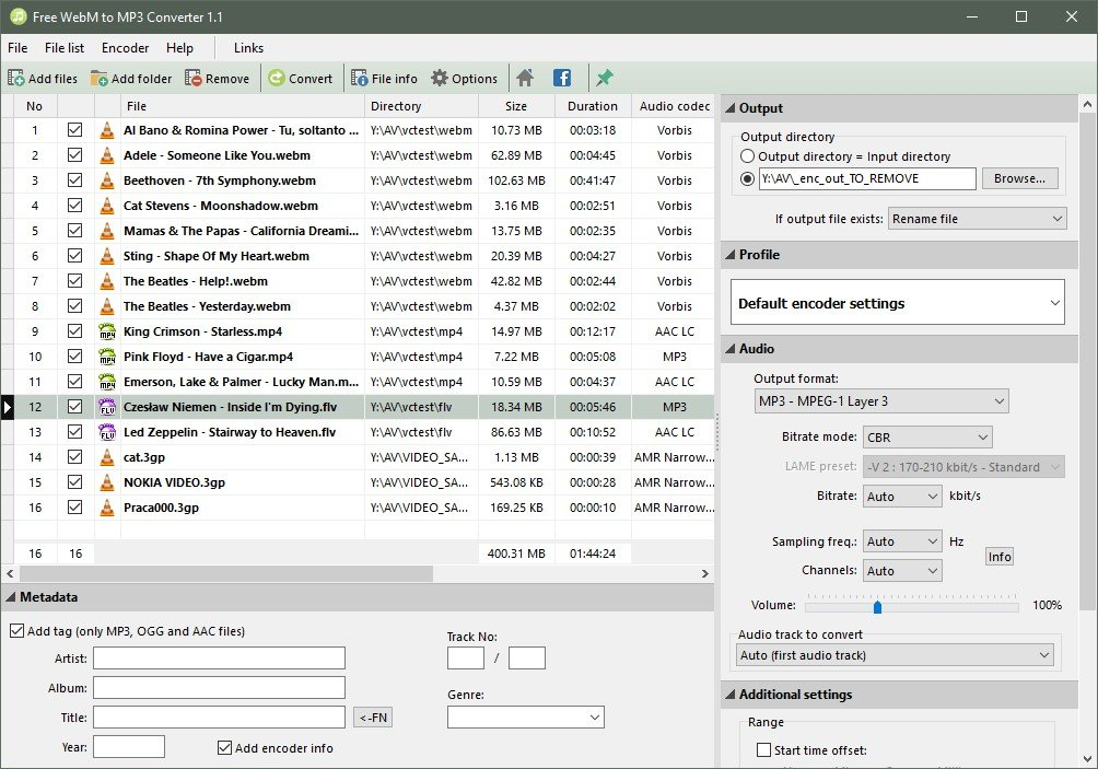 It S Possible To Update The Information On Pazera Free Webm Mp3 Converter Or Report As Discontinued Duplicated Spam