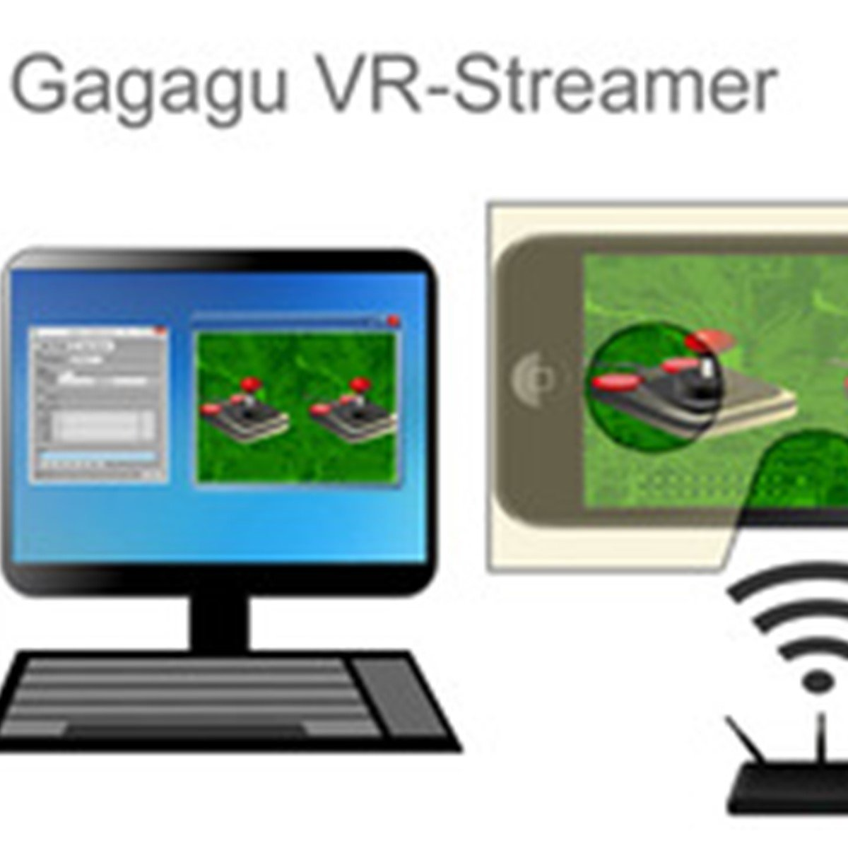 e23716bc6ef Gagagu VR-Streamer. Transfer the Image output from a game running on your  Windows PC ...