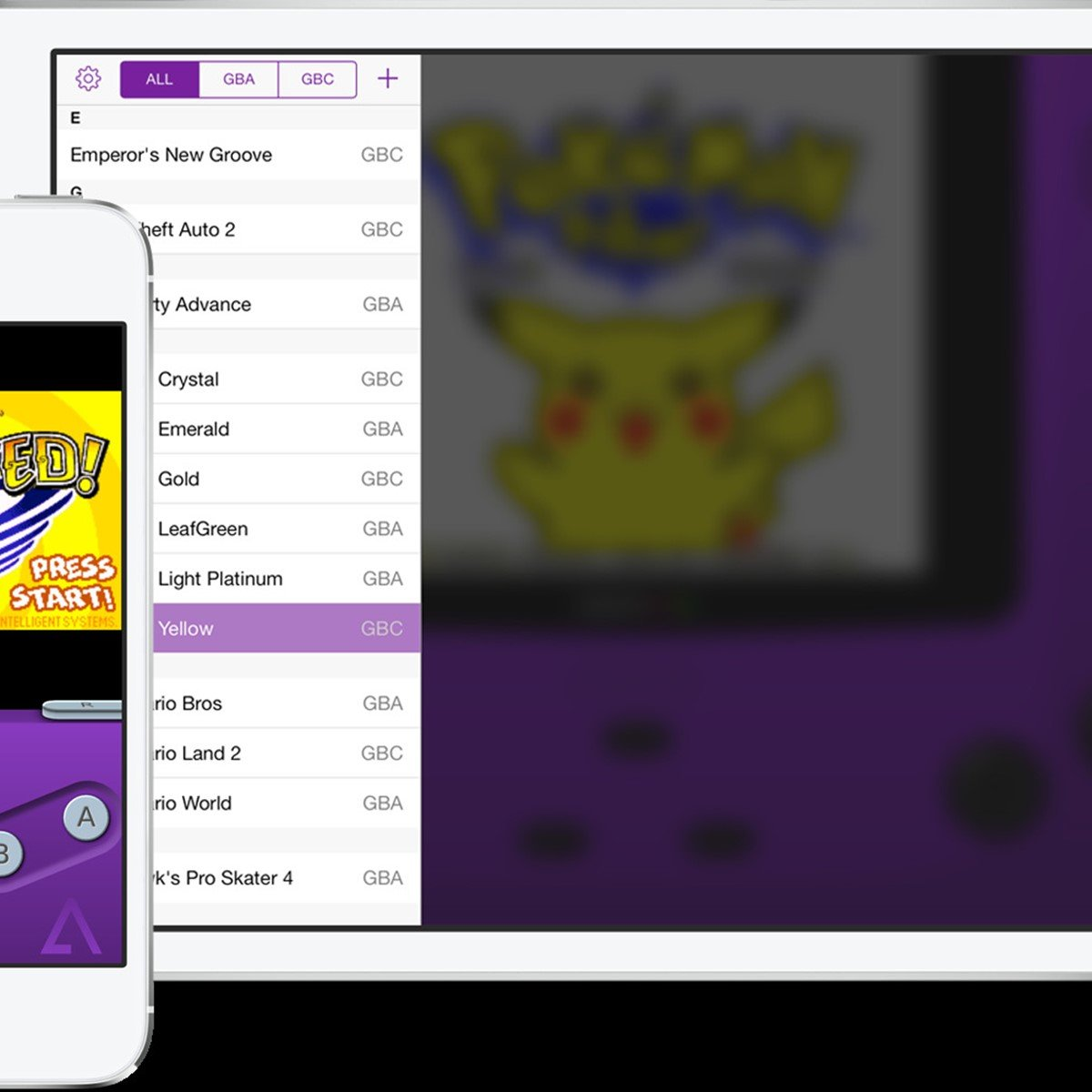 GBA4iOS Alternatives and Similar Games