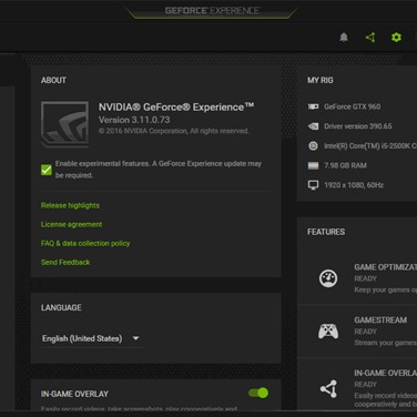 Geforce Experience Alternatives and Similar Software
