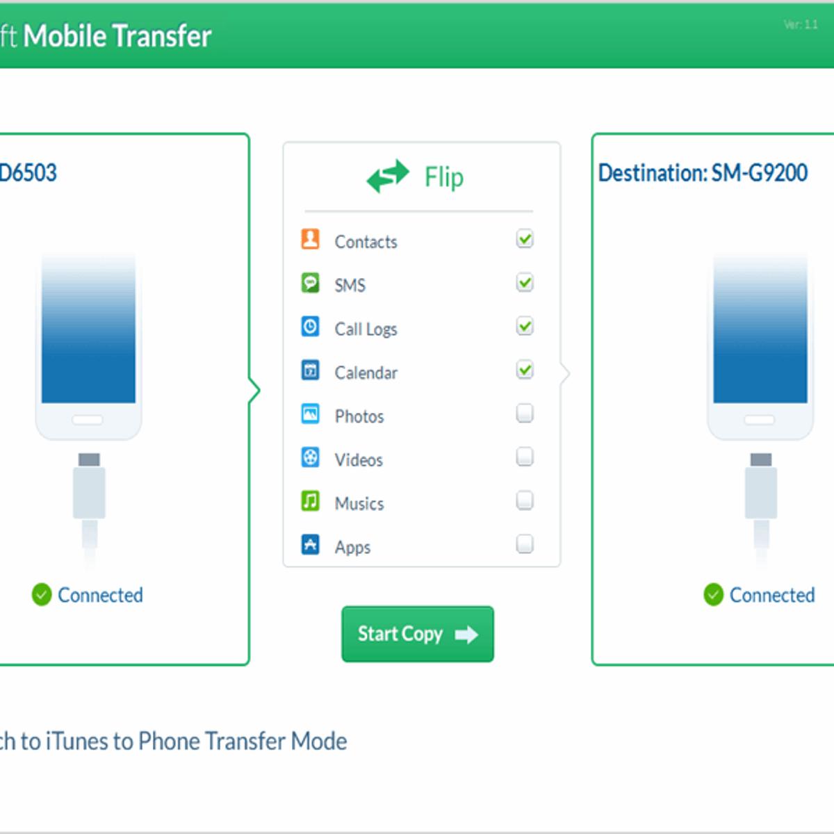 wondershare mobile transfer apk
