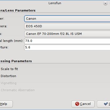 GimpLensfun Alternatives and Similar Software