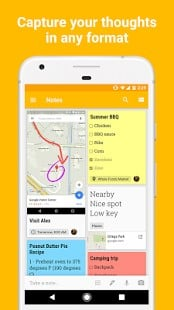google keep chrome extension android
