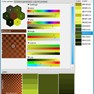 color picker - sliders