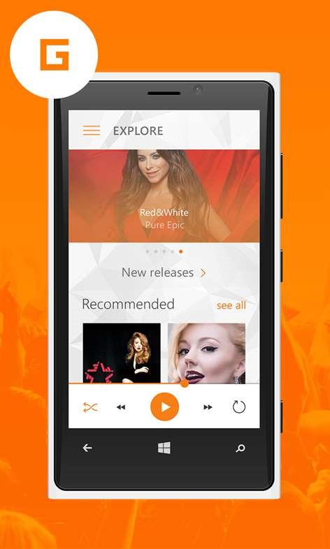 gPlayer for Google Play Music Alternatives and Similar
