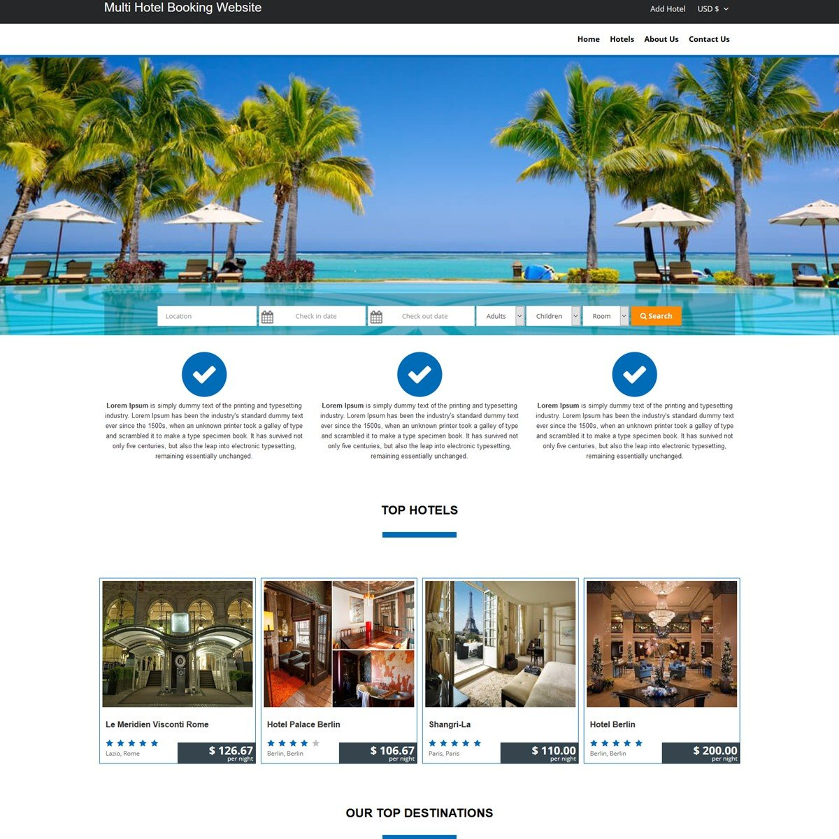 hotel booking system Hotel booking software - software and system requirements 30-day trial available.