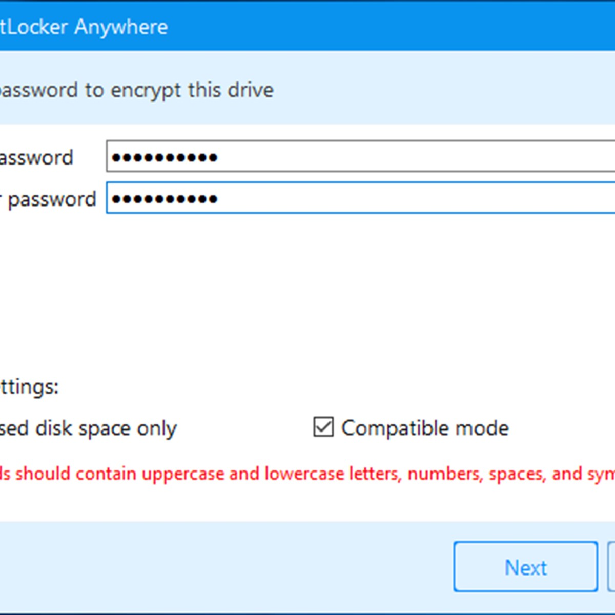 Hasleo BitLocker Anywhere Alternatives and Similar Software