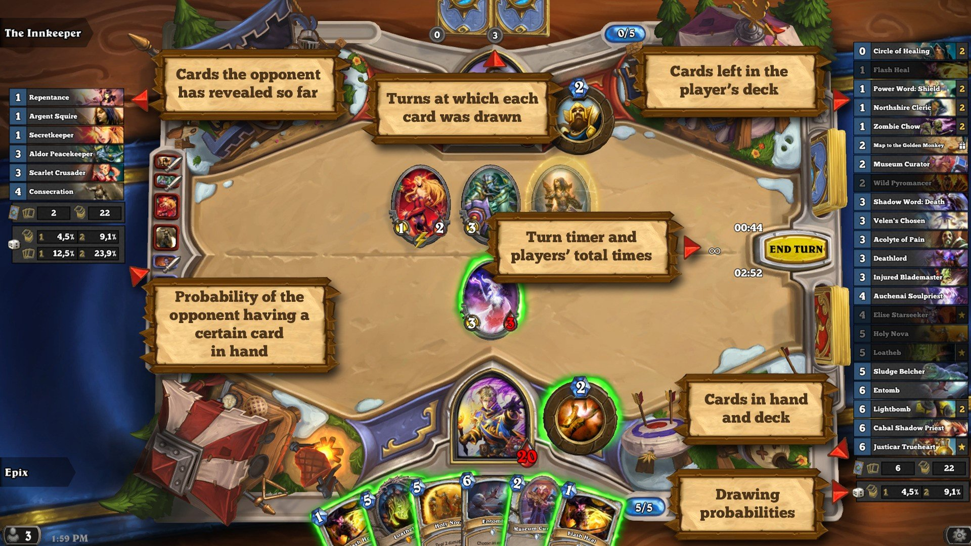 Hearthstone Deck Tracker Alternatives and Similar Software