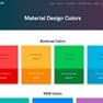 Material Design Colors icon
