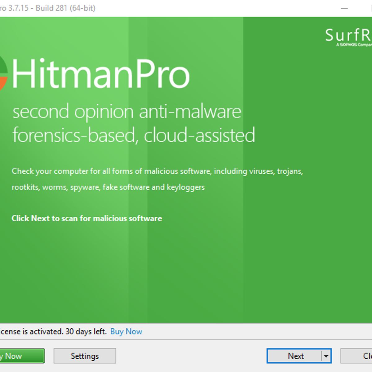 HitmanPro Alternatives and Similar Software - AlternativeTo net