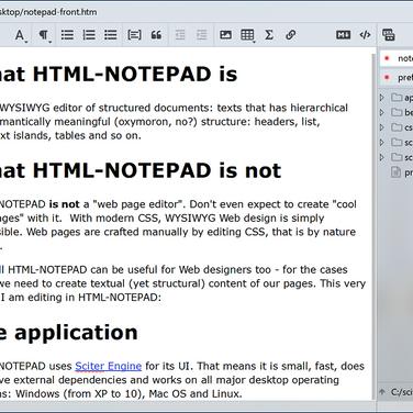 HTML-Notepad Alternatives and Similar Software