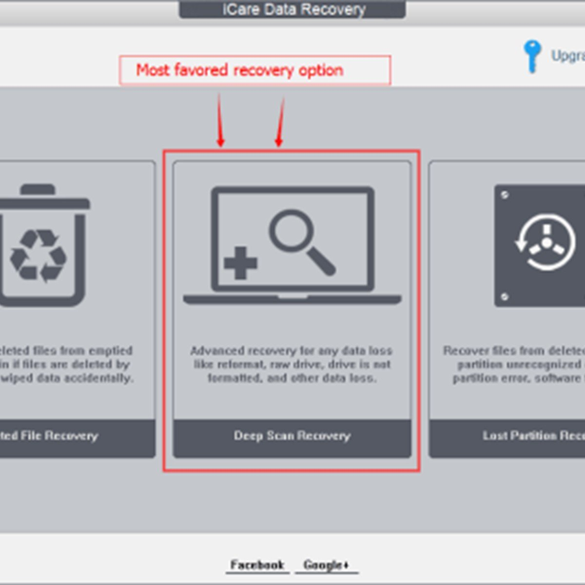Icare Data Recovery Alternatives And Similar Software